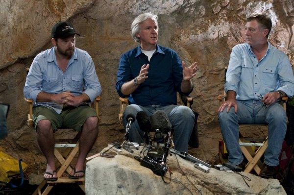 James Cameron est producteur exécutif de SANCTUM