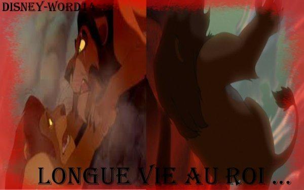 Scène Disney - Le roi lion