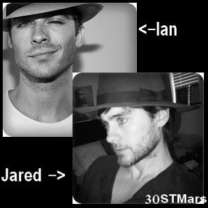 Ian et Jared un petit air de ressemblance ?