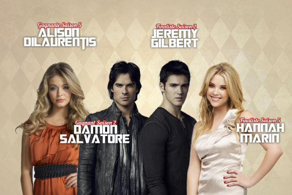 Nomination 2 : Damon // Alison // Hannah // Jeremy