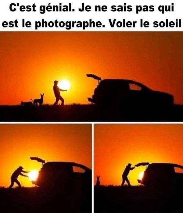 """""capturer le soleil ???"