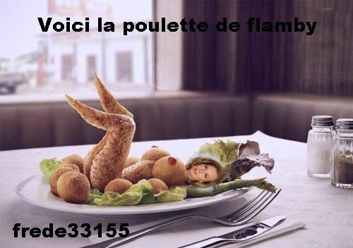 la poulette de flamby