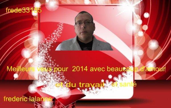 je vous souhaite une bonne année 2014