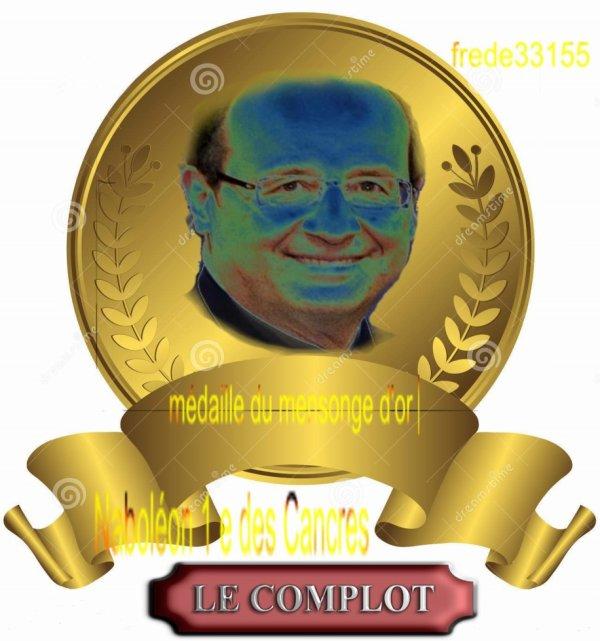 médaille d'or a naboléon 1e des cancres