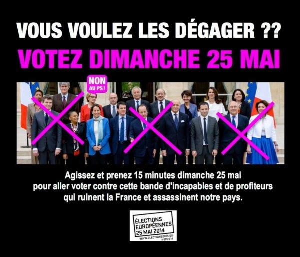 VOTER LE 25 MAI CONTRE SE GOUVERNEMENT DE MINABLE
