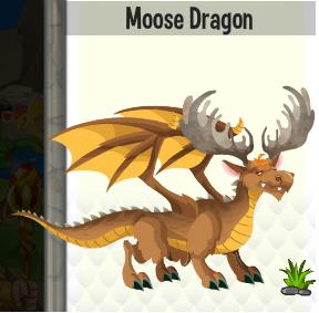 Dragon Moose Les Dragon De Dragon City