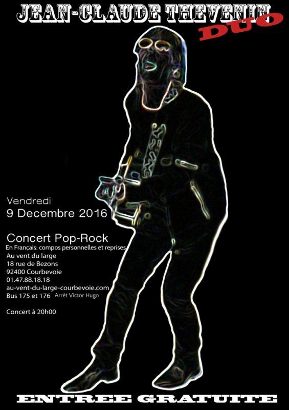 C'est ce soir !!!Vous aimez le rock ? alors les pots on vous attends (compos perso (style telephonne, acel Bauer, stones...) + reprises