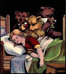 Boucle d'Or et les trois ours, de Southey puis GRIMM