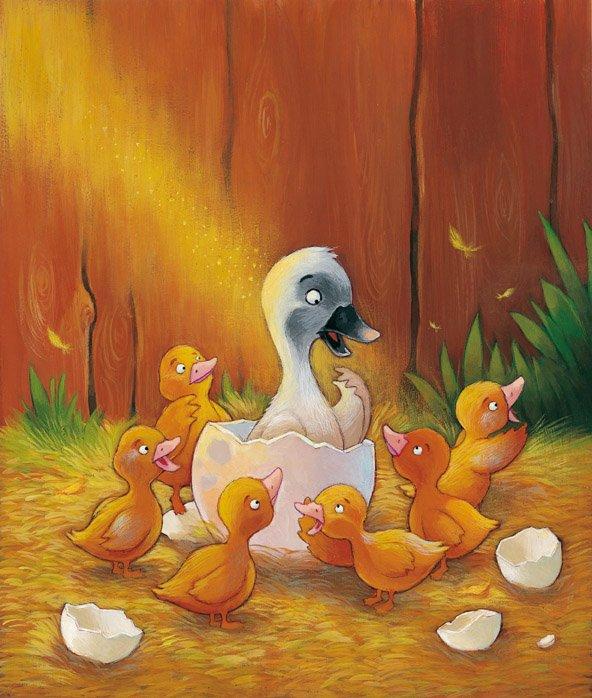 Le vilain petit canard, de ANDERSEN