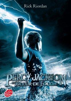 Percy Jackson, tome 1 : Le voleur de foudre, de Rick Riordan