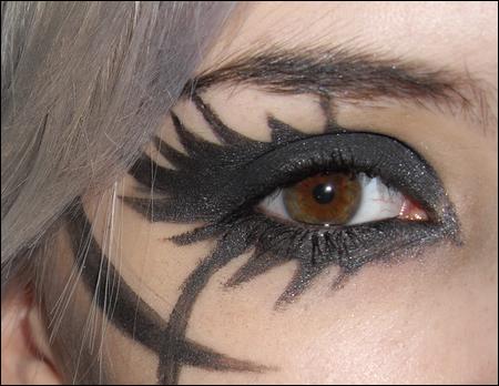 Le Maquillage au coin de l'oeil