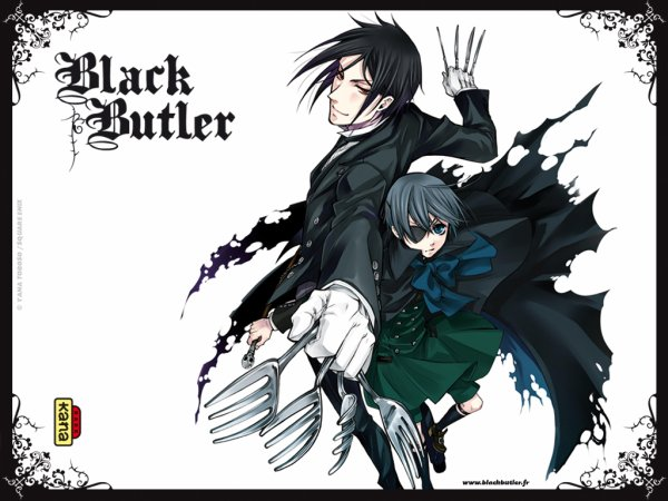 Présentation du manga Black Butler ( Kuroshitsuji )