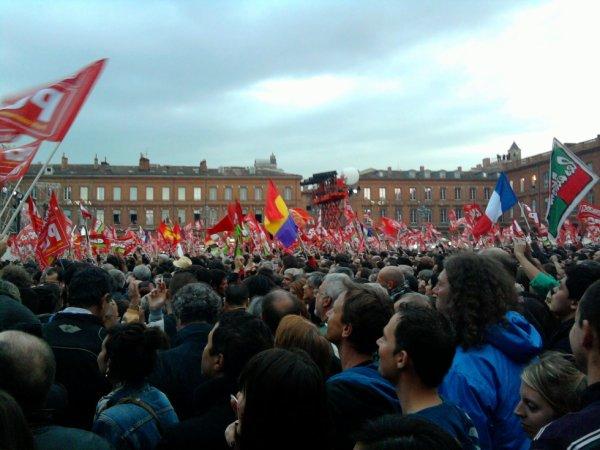 mélenchon à Toulouse