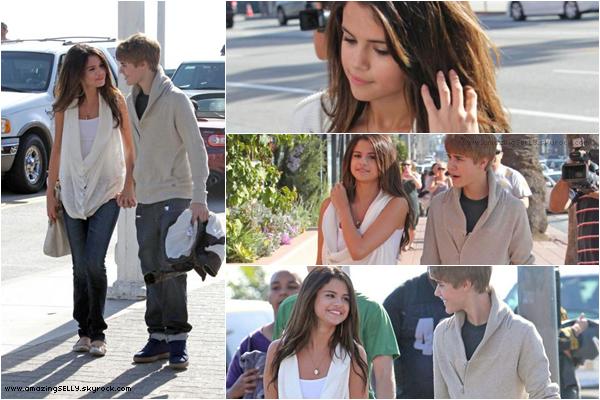 * Selena & Justin ont été aperçuent à Santa Monica - 06.02.11 *