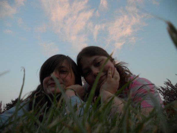Emilie et Mélodie