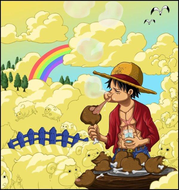Luffy paradis !!