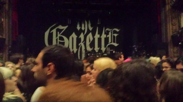 The Gazette Concert au Trianon le 20/09/2013