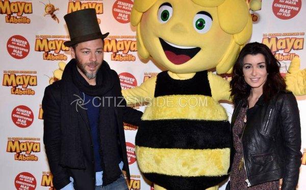 Christophe et Jenifer qui on prêté leurre vois pour La Grande Aventure de Maya l'abeille