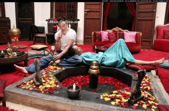 pour cette saint valentin voila des photo de notre couple Christophe mae et sa chérie