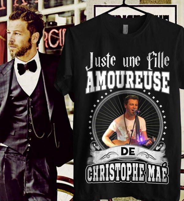 Êtes-vous un fan de Christophe Maé?