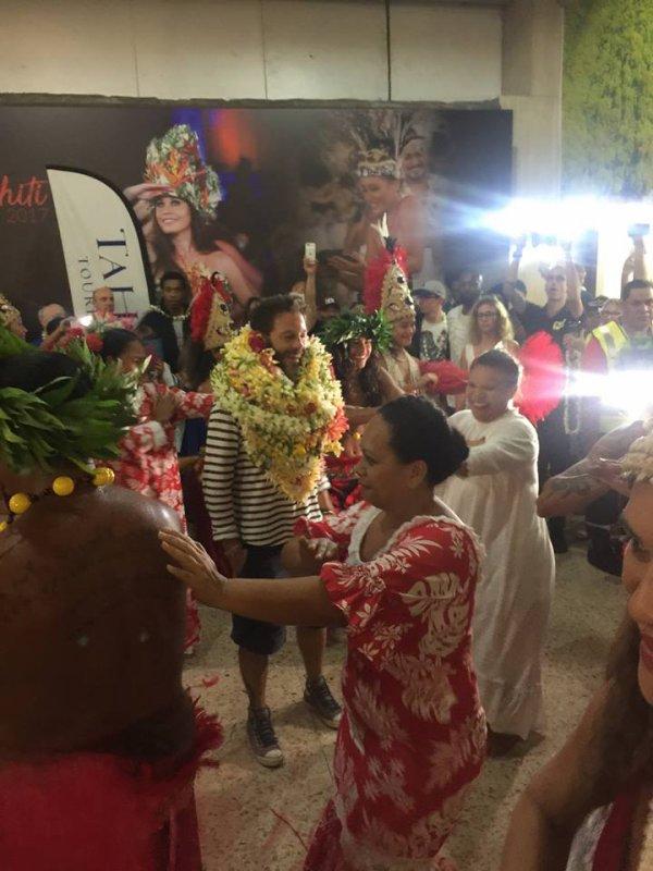 CHRISTOPHE MAÉ À TAHITI