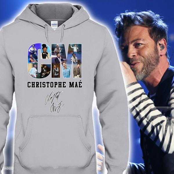 👉T-Shirt parfait pour tous les Fans de Christophe Maé