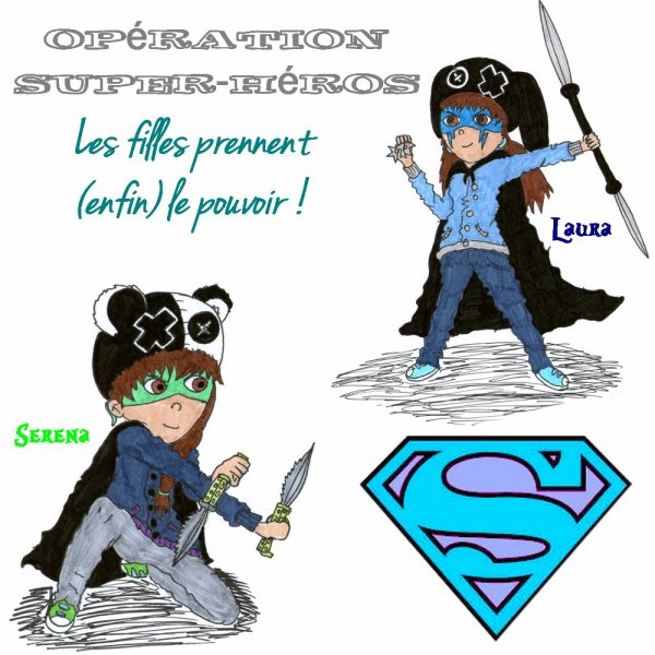 Nous les Super-Girls !