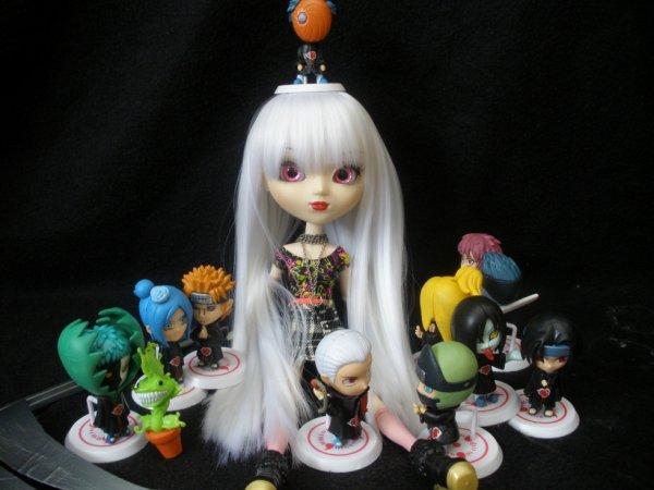 Anaïs avec l'akatsuki