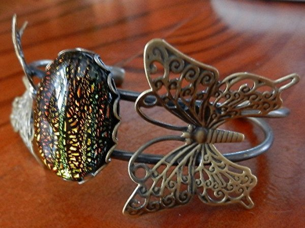 bracelets métal bronze