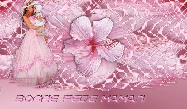 Bonne fête à toutes mes mamounettes du monde!!!!
