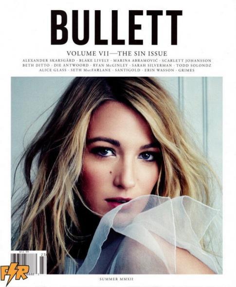 CANDID 20/08 : Blake en couverture du magazine Bullett