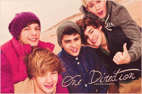 Bienvenue sur OneDirectionInfos, ta source sur le groupe One Direction !