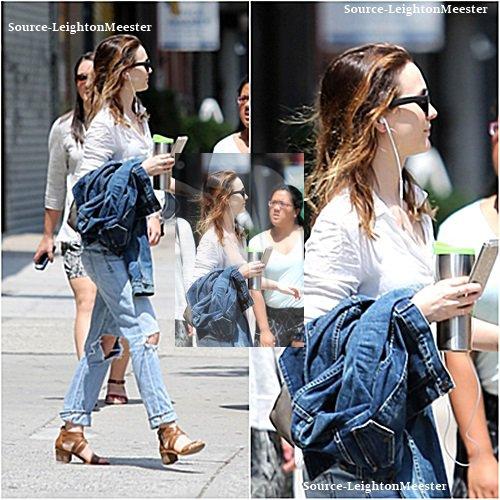 20juillet, Leighton a rendu visite à son ami, à New-York