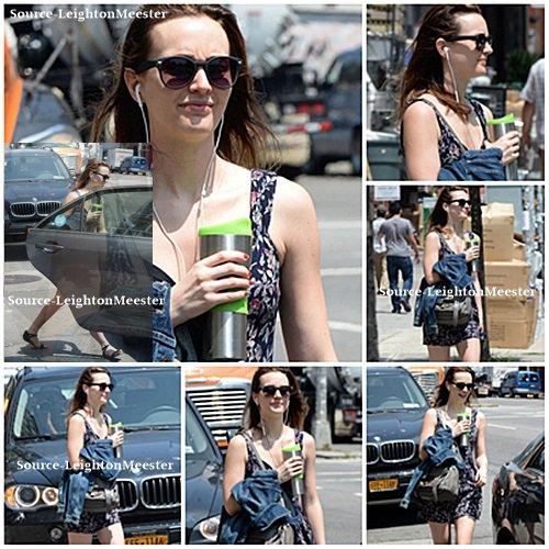 23juillet, Leighton quitte son appartement pour se diriger vers son travail à Manhattan