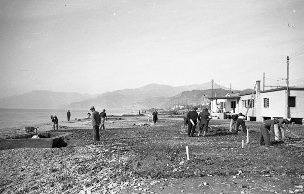 Bordighera (IM), Liguria, Italy - by Ezio Benigni © Moreschi di Sanremo (IM) #oldpics #1934