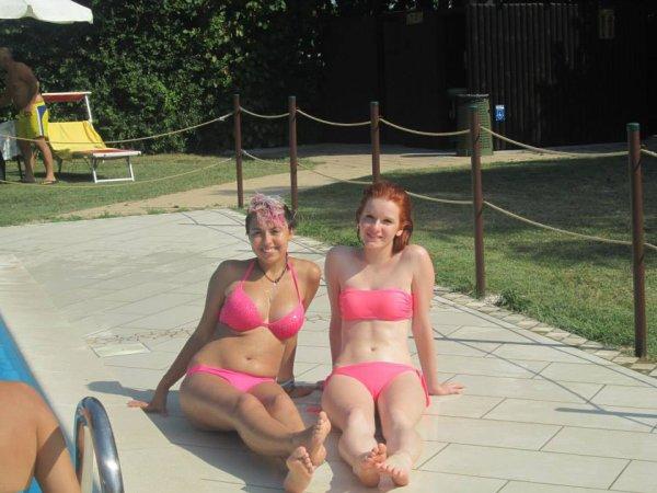 Petite aprem a la piscine