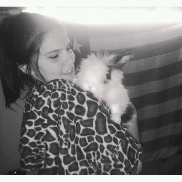 R.I.P mon bebe de lapin