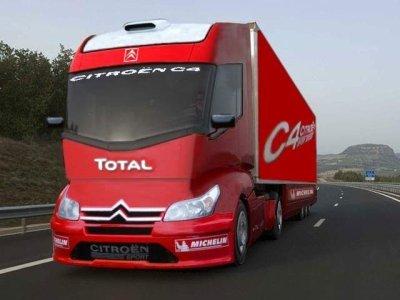 c est le camion du futur la passion du camion. Black Bedroom Furniture Sets. Home Design Ideas