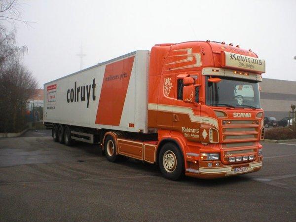 transporteur belge la passion du camion. Black Bedroom Furniture Sets. Home Design Ideas