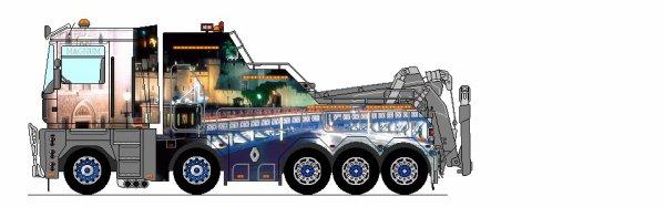 Dessin renault magnum la passion du camion - Dessin renault ...