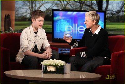 Le 23/02/2011 Justin étais au  Ellen Degeneres !