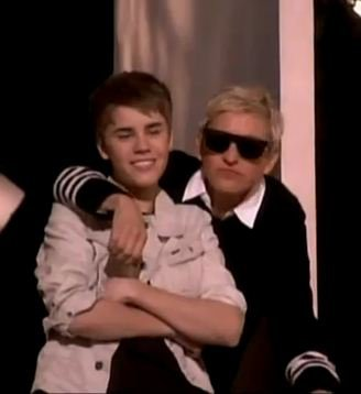 Justin et Ellen ! :)