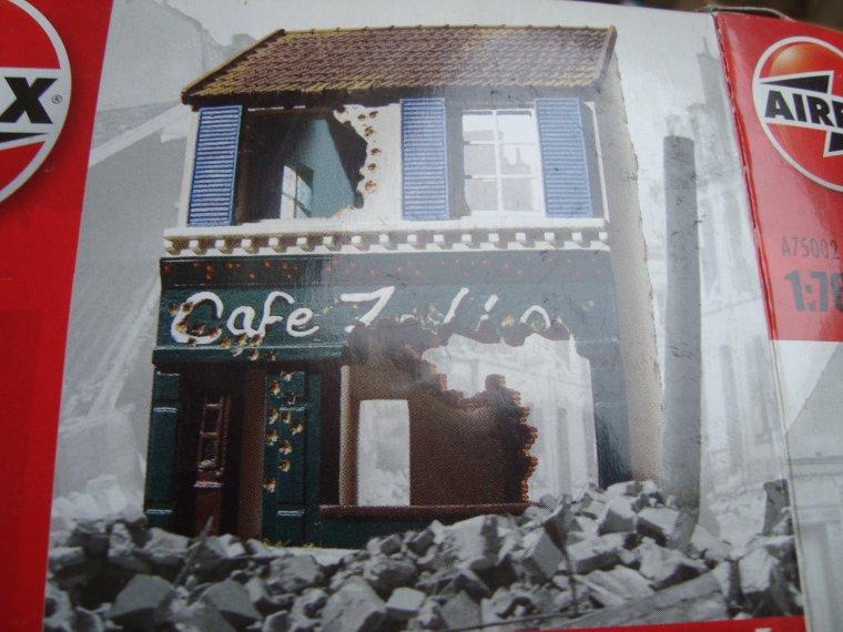 """Diorama au 1/72 et 1/76 """" Paris brule t'il """" part I"""