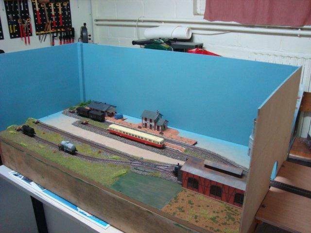 Mon module Marklin d'exposition ( HO ) PART 5