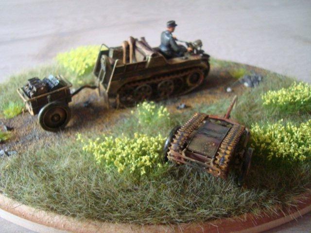 Kettengraftrad au 1/ 48 Tamiya Part 3