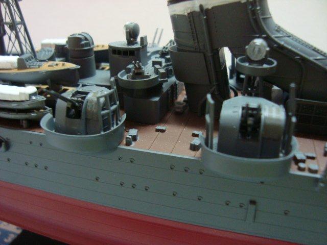 Le Croiseur Nippon de Gérard 1/350 ( Fin )