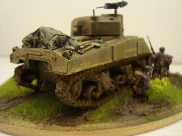 M4 sherman Tamiya au 1/48