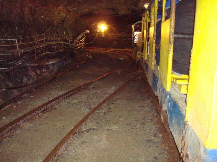 Reportage : La mine bleue