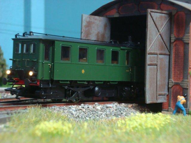 Triage de mon locotracteur Kof SNCF sur mon module