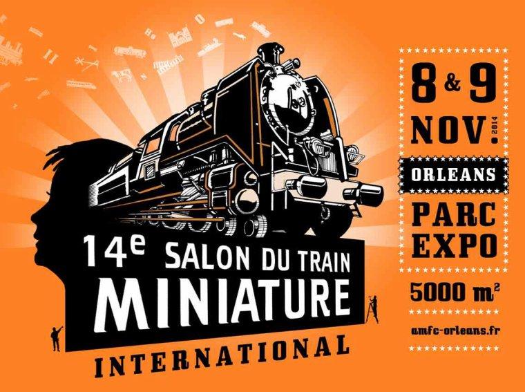 Reportage sur le salon du train miniature à Orléans 2014